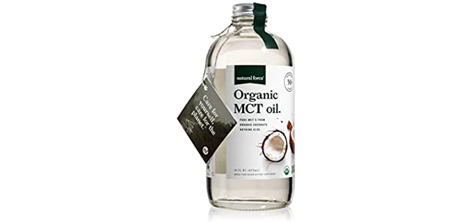 Natural Force Certified Keto - Organic MCT Oil
