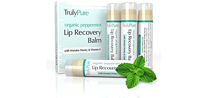 Lip Recovery Balm Truly Pure - Peppermint Lip Balm