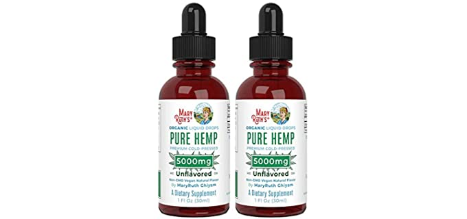 MaryRuth Organics 2 Pack - Organic Pure Hemp Oil