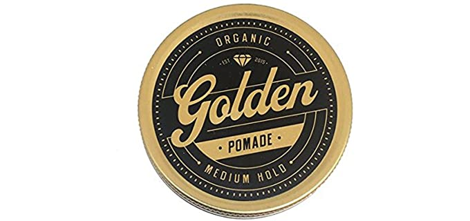 Golden Beards Handcrafted - Natural Hair Pomade