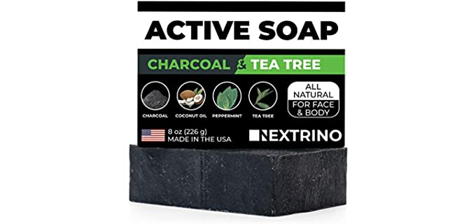 Nextrino Soap - Activated Charcoal Bar