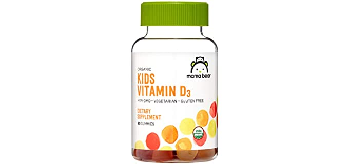 Mama Bear Amazon Brand - Organic Kids Vitamin D3