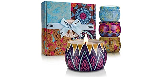 YMING Aromatherapy - Organic Scented Candles