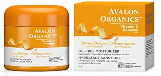 Avalon Organics Intense - Organic Defense Moisturizer