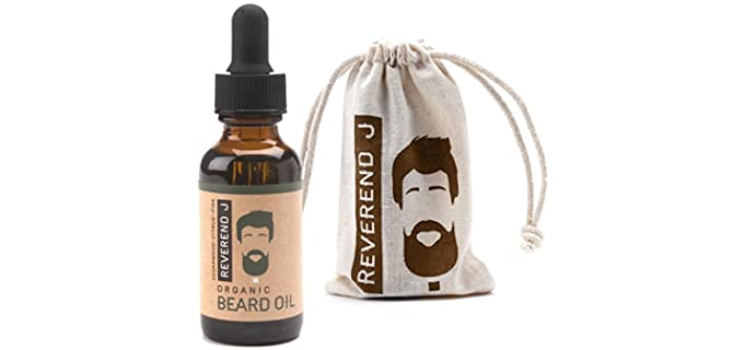 Reverend J Beard Care - Organic Beard Oil