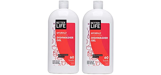 Better Life Crumb-Crushing - Dishwasher Gel Detergent