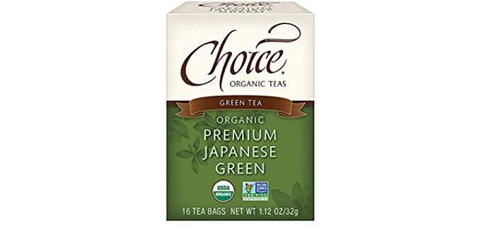 Choice Organic Teas Japanese - Premium Green Tea