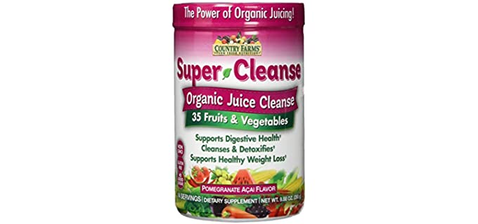 Country Farms Super Cleanse - Organic Super Juice Cleanse