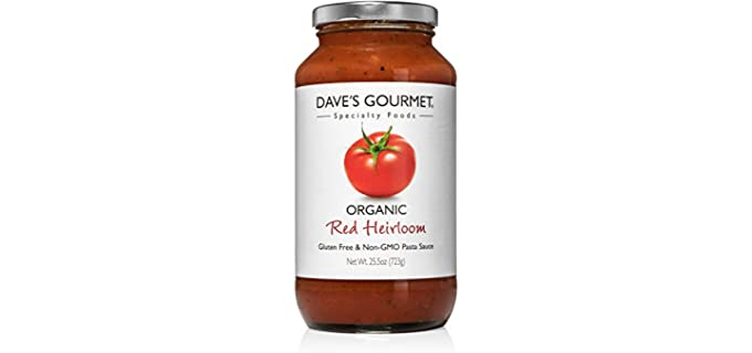 Dave's Red Heirloom - Gourmet Pasta Sauce