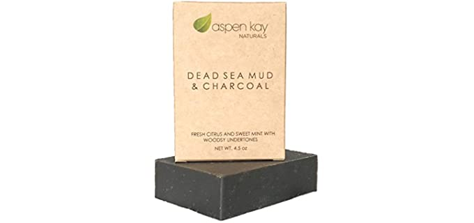 Aspen Kay Naturals Natural - Dead Sea Mud Soap Bar