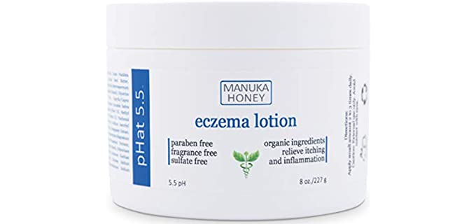 pHat 5.5 Relief Cream - Organic Eczema Lotion