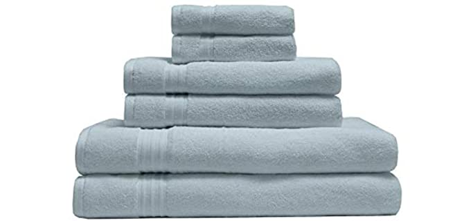Elite Home 100% - Organic Cotton Towel