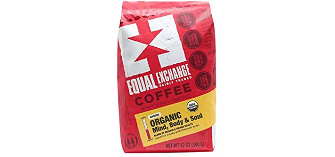 Equal Exchange Mind Body Soul - Organic Ground Coffee