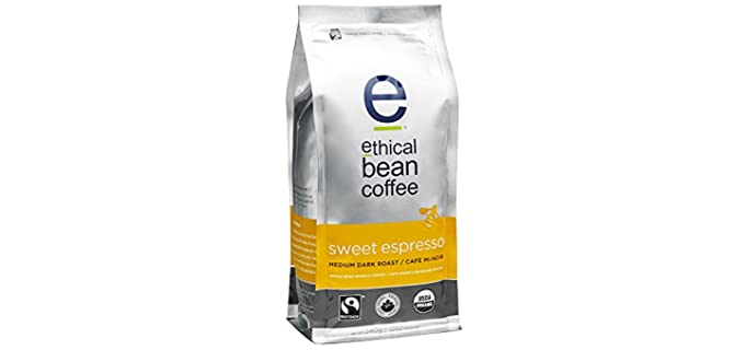 Ethical Bean Coffee Sweet - Organic  Espresso Coffee Beans
