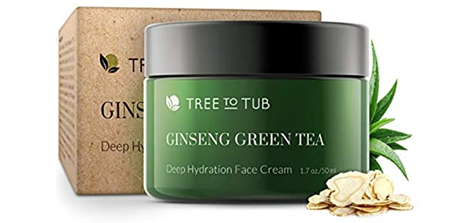 Tree to Tub Hydrating - Ginseng Green Tea Moisturizer