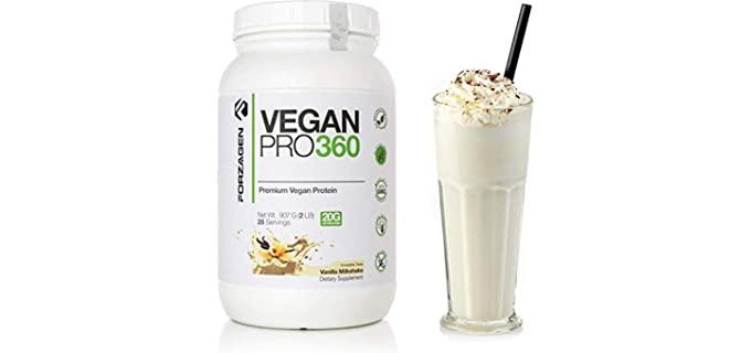 Forzagen Vegan Pro 360 - Organic Protein Powder