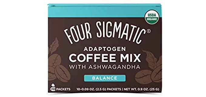 Four Sigma Foods Instant - Organic Adaptogen Coffee Mix