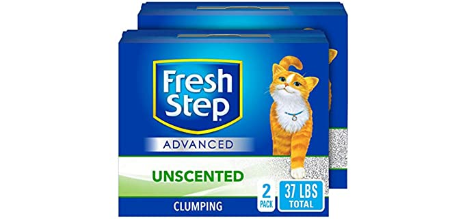 Fresh Step Advanced - Clumping Cat Litter