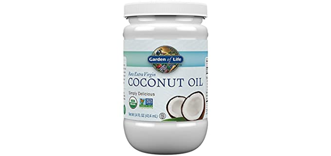Garden of Life Extra Virgin - Organic  Coconut Oil