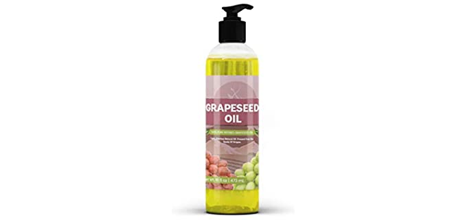 Pure Organic Ingredients Pure - Grape Seed Oil