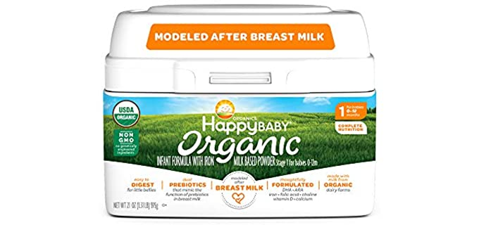 Happy Baby Milk-Based - Organic Infant Formula Powder