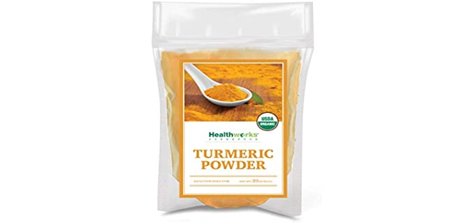Healthworks Ground - Organic Aromatic Turmeric Powder