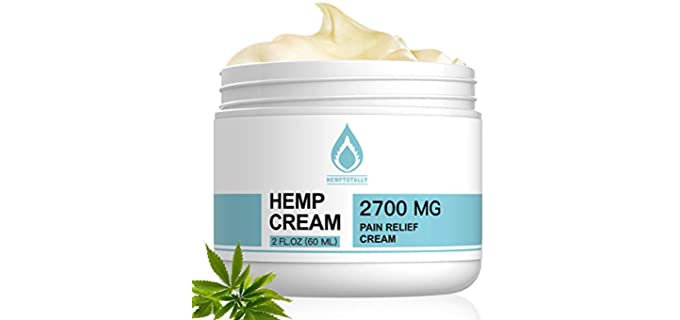 HempTotally 100% Natural - Cream for Pain Relief