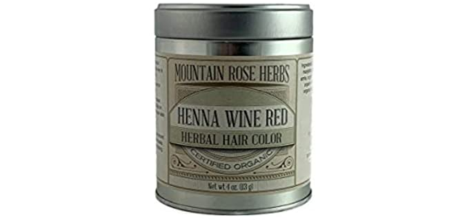 Mountain Rose Herbs Wine Red - Henna Powder