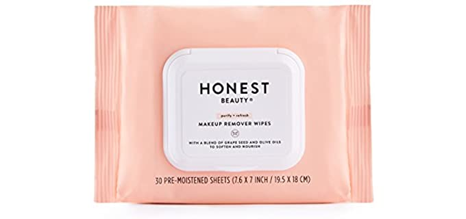 Honest Beauty Wipes - Organic Makeup Remover