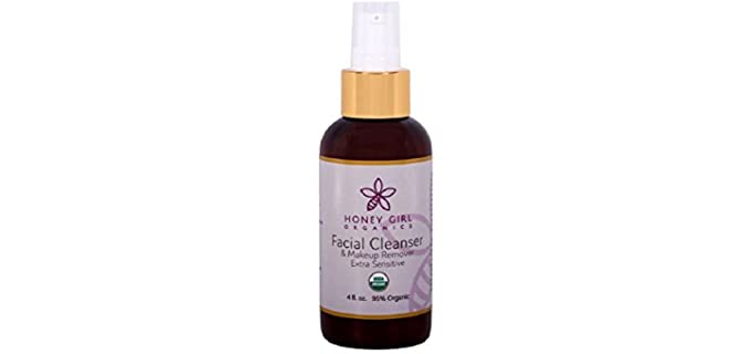 Honey Girl Organics Facial - Organic Makeup Removing Cleanser