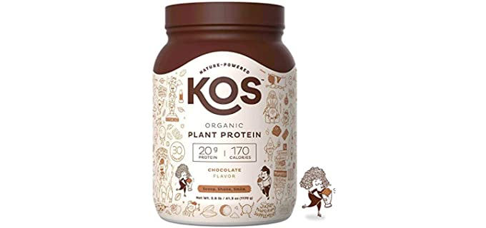 KOS Raw Vegan - Organic Plant Protein Powder