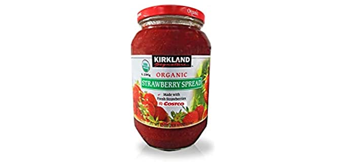 Kirkland Signature Fruit Spread - Organic Strawberry Jam