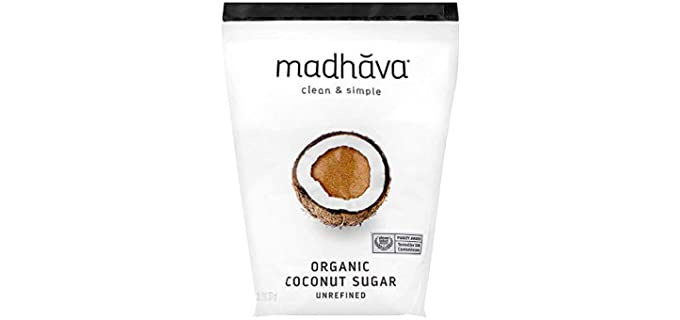 Madhava Unrefined - Organic Coconut Sugar