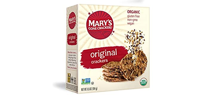 Mary's Gone Crackers Original - Organic Flax Seed Crackers