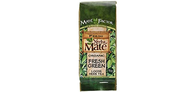 The Mate Factor Fresh Green - Organic Yerba Mate
