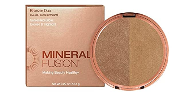 Mineral Fusion Duo - Organic Bronzer and Highlighter