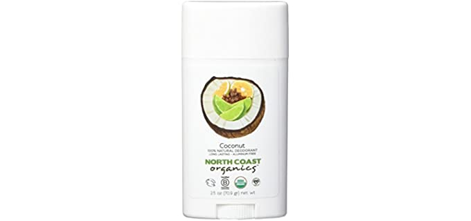 North Coast Organics Vegan - Coconut Organic Deodorant