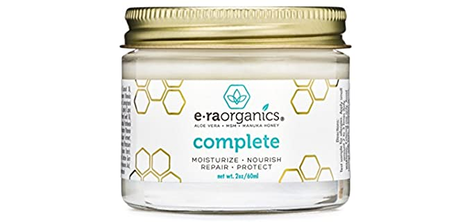 Era Organics 10-In-1 - Organic Face Moisturizer Cream