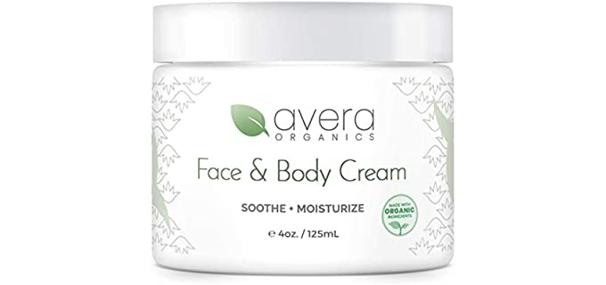 Avera Organics Dry Skin - Face and Body Moisturizer