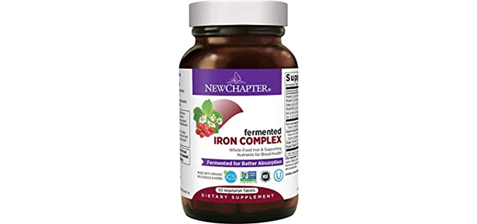 New Chapter Fermented - Iron Complex Supplement