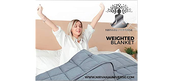 Nirvana Universe 7 Layer - Organic Weighted Blanket
