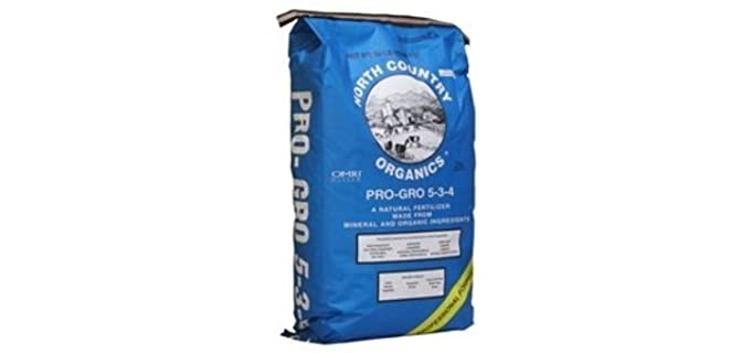 North Country Organics Pro GRO - 5-3-4 Organic Fertilizer