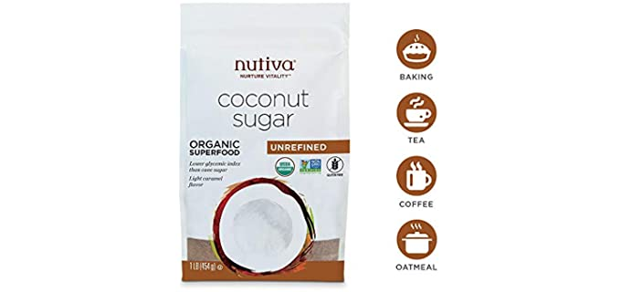 Nutiva Granulated - Organic Coconut Sugar