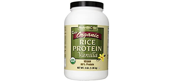 Nutribiotic Raw - Organic Rice Protein