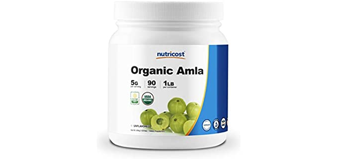 Nutricost Unflavored - Organic Amla Powder