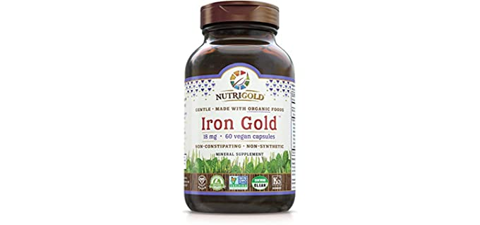 Nutrigold Gentle - Organic Iron Supplement