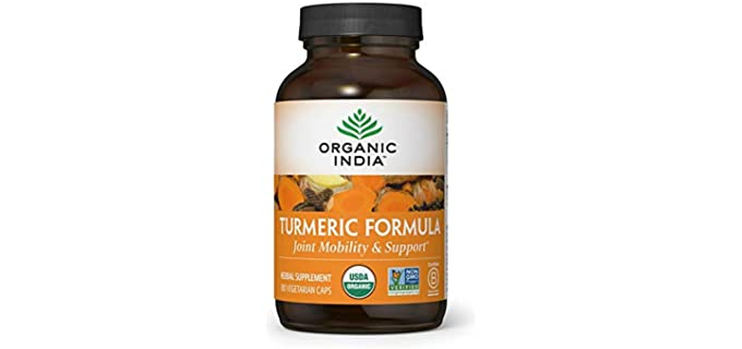 Organic India Natural - Turmeric Curcumin Supplement