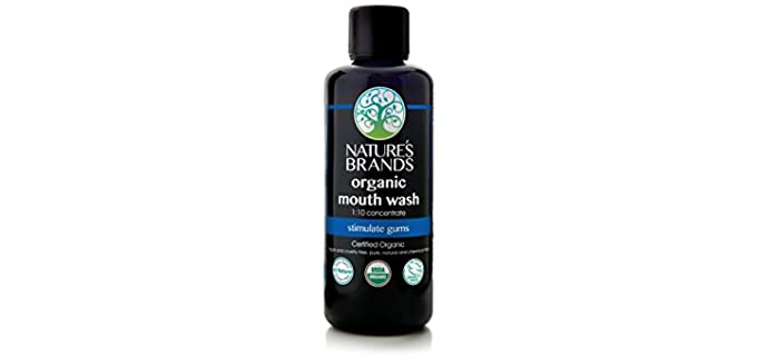 Nature's Brands Herbal - Organic Mouth Wash