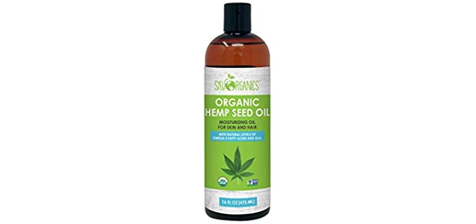 Sky Organics Cold-Pressed - Organic Hemp Seed Oil