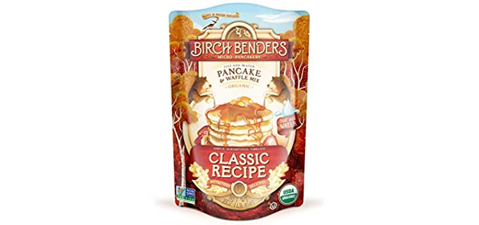 Birch Benders Whole Grain - Classic Waffle and Pancake mix